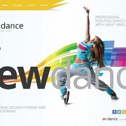 Dance Studio Moto CMS HTML Template