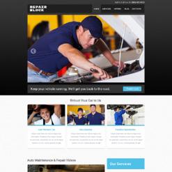 Car Repair Responsive Website Template