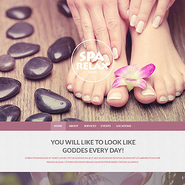 Spa Accessories Responsive Drupal Template #51329