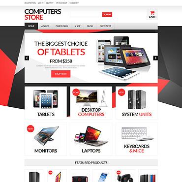 Computer Store Responsive WooCommerce Theme