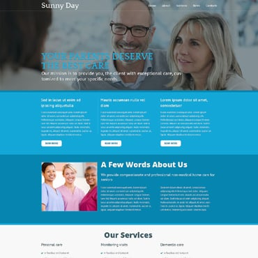 Retirement Planning Responsive Joomla Template
