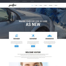 Car Wash Responsive Website Template