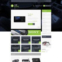 Car Audio Responsive OpenCart Template