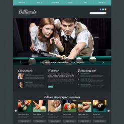 Billiards Responsive Joomla Template
