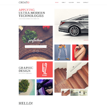 Design Studio Responsive Website Template