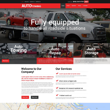 Car Tuning Responsive WordPress Theme