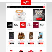 Coffee Shop Responsive Magento Theme