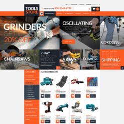 Tools & Equipment ZenCart Template
