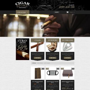 Tobacco Responsive PrestaShop Theme
