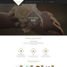 Wedding Shop PSD Template