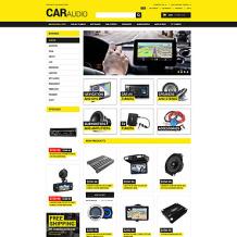 Car Audio Responsive Magento Theme