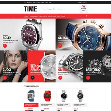 Watches ZenCart Template