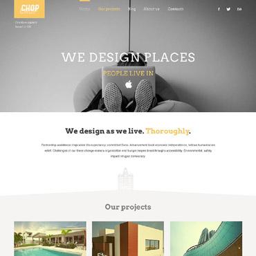 Architecture Responsive WordPress Theme