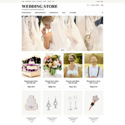 Wedding Shop ZenCart Template