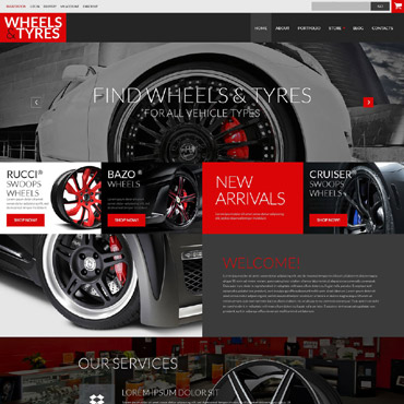 Wheels & Tires Responsive WooCommerce Theme