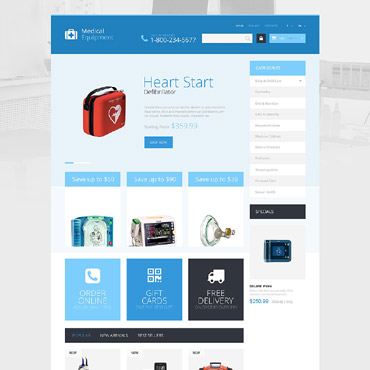 Medical Equipment Responsive PrestaShop Theme
