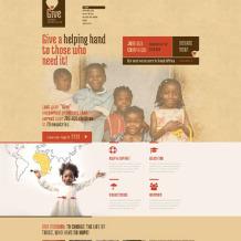 Child Charity Responsive WordPress Theme