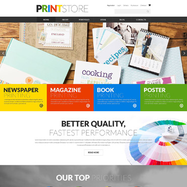 Print Shop Responsive WooCommerce Theme