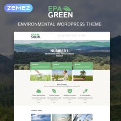 Environmental Responsive WordPress Theme