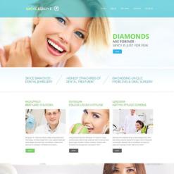 Dentistry Responsive Website Template