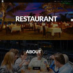 European Restaurant Responsive Website Template