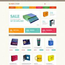 Print Shop Responsive Magento Theme