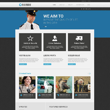 Police WordPress Theme