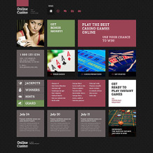 Online Casino Responsive WordPress Theme
