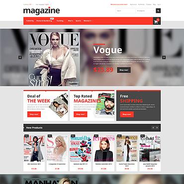 News Portal Responsive Magento Theme