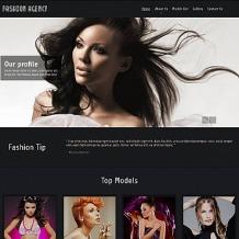 Model Agency Moto CMS HTML Template