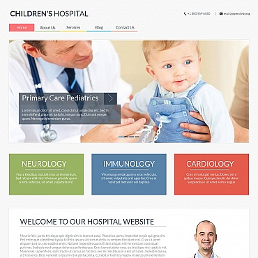 Medical Moto CMS HTML Template