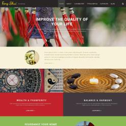Feng Shui Responsive Website Template