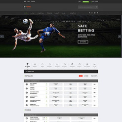 Online Betting Responsive Website Template