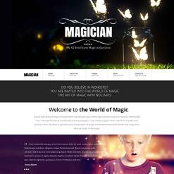 Entertainmnet Responsive Website Template