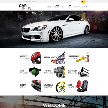 Car Tuning Responsive Shopify Theme