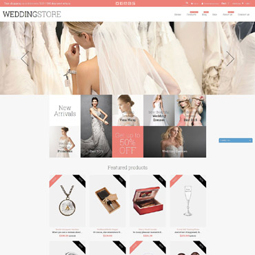 Wedding Shop Responsive Shopify Theme