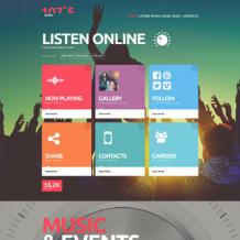 Radio Website Responsive Joomla Template