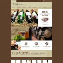 Wine Responsive PrestaShop Theme