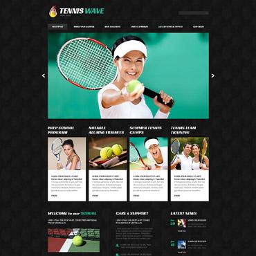 Tennis Responsive WordPress Theme