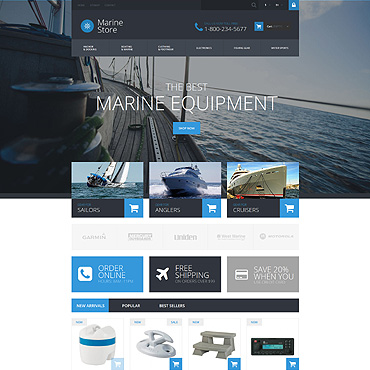 Yachting Responsive PrestaShop Theme