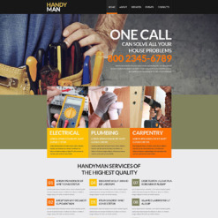 Home Repairs Responsive Website Template
