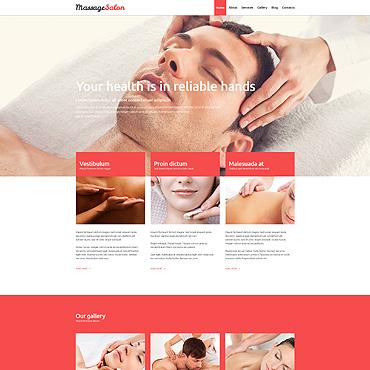 Massage Salon Responsive Joomla Template