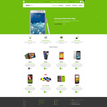 Mobile Store OsCommerce Template