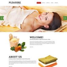 Sauna Responsive Website Template
