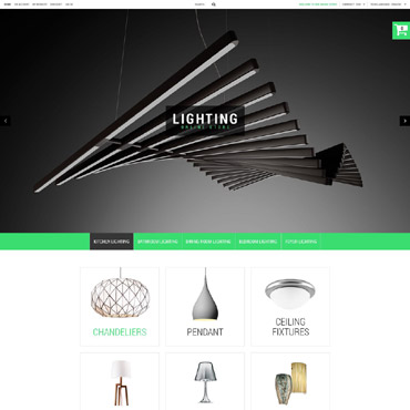 Lighting & Electricity Responsive Magento Theme