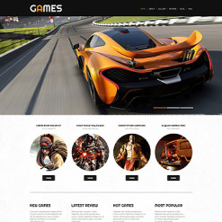 Game Portal Responsive WordPress Theme