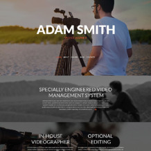 Videographer Responsive WordPress Theme