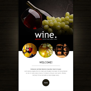 Wine Responsive Newsletter Template