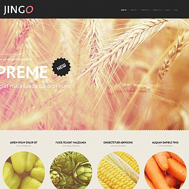 Agriculture Moto CMS HTML Template