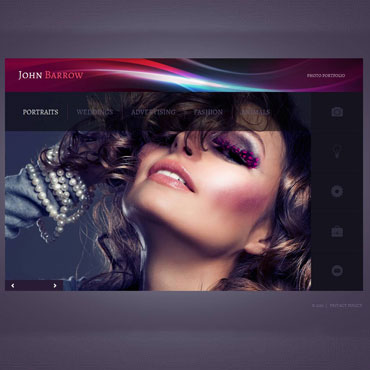Personal Page Photo Gallery Template